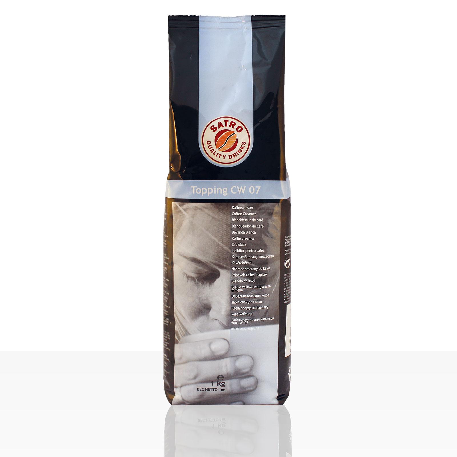 Satro Topping CW 07 Kaffeeweisser - 10 x 1kg