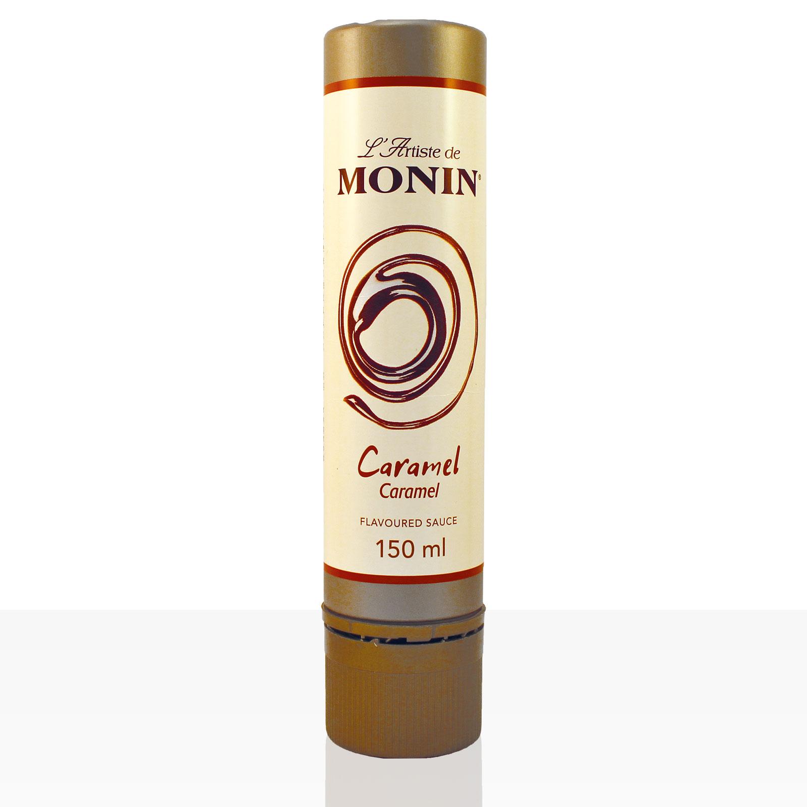 Monin L'Artiste de Monin Caramel Garnier-Sauce 150 ml, Karamell-Soße