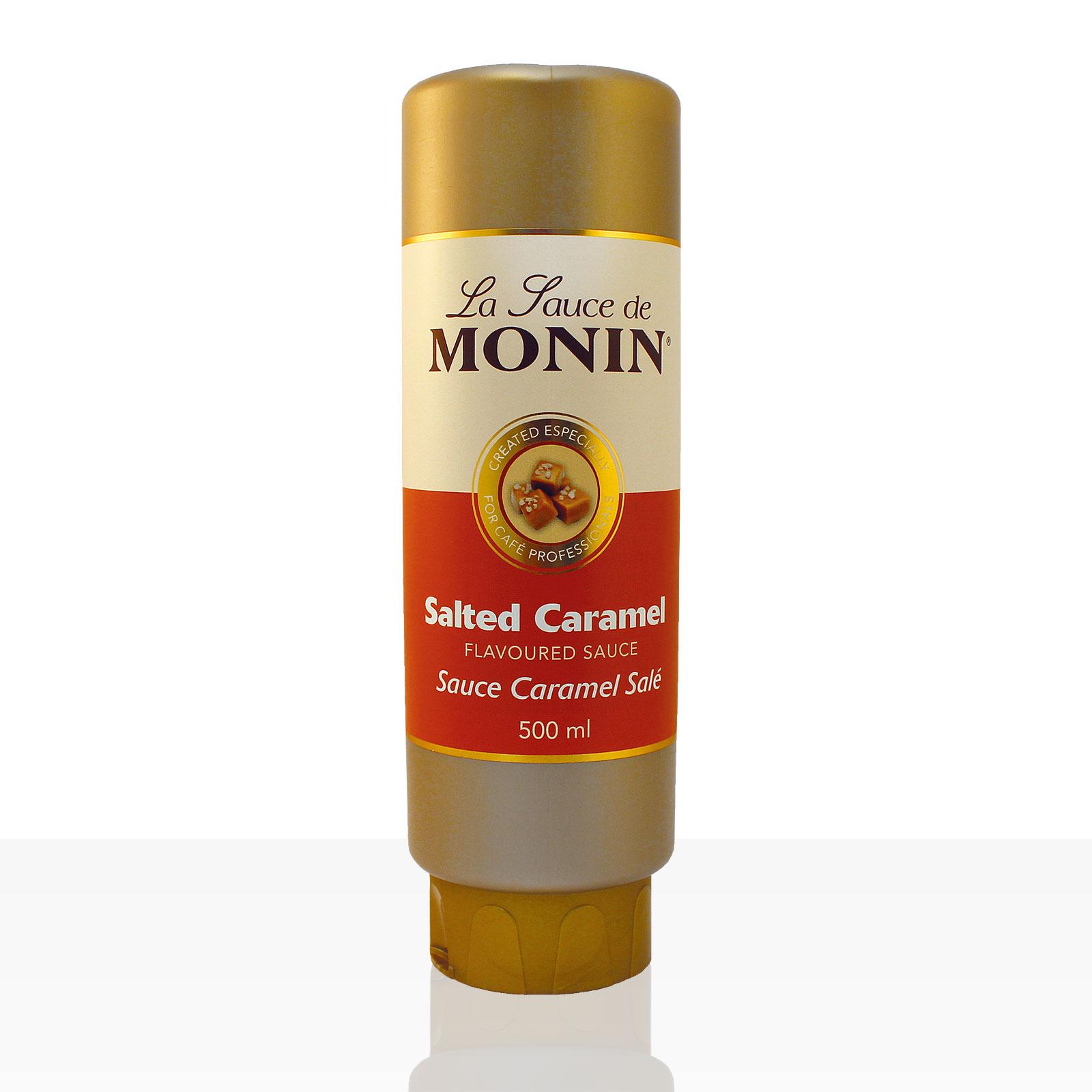 Monin Sauce Salted Caramel 0,5 l, Karamell-Soße
