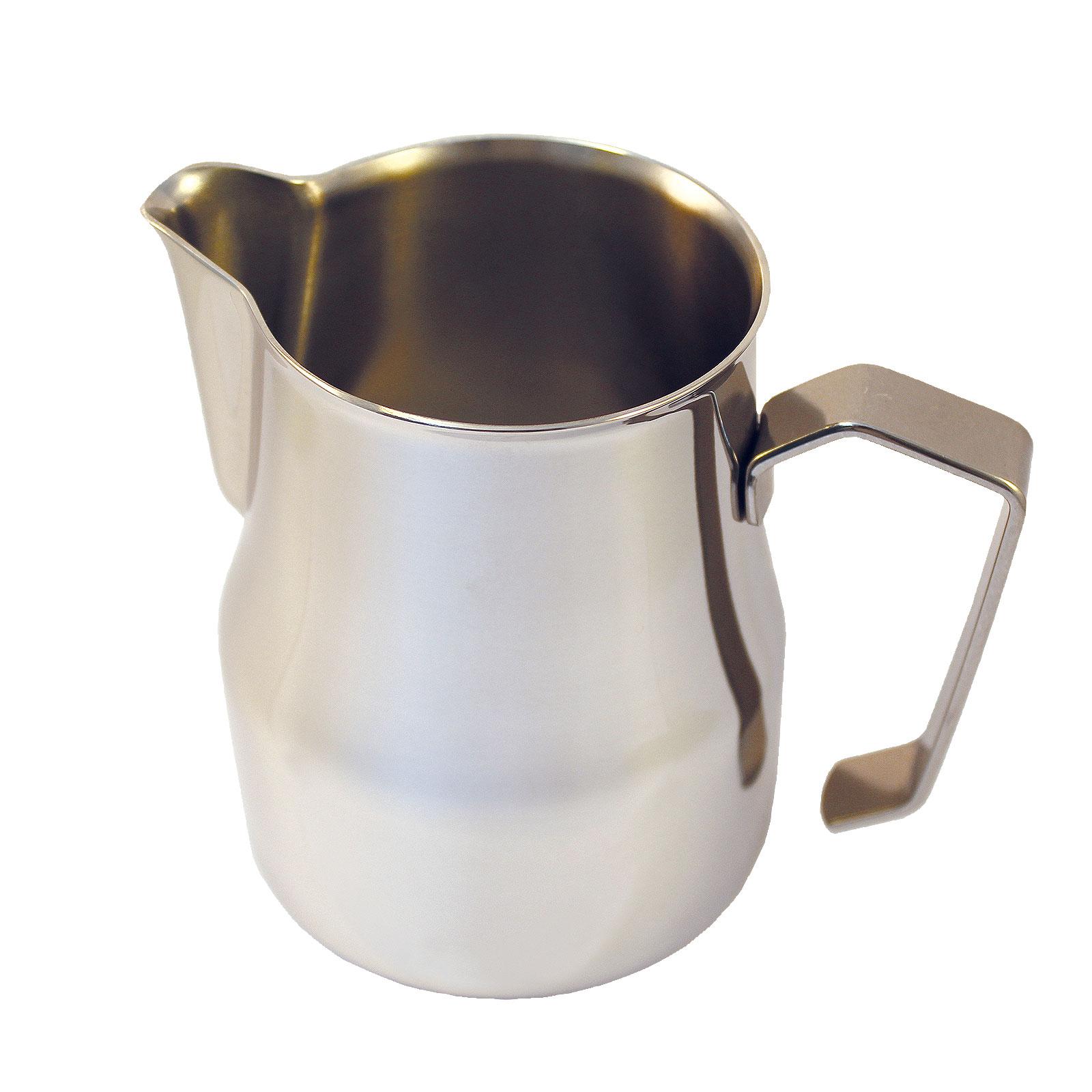 Motta Aufschäumbehälter, Milchkanne Europa mit Auslauf Barista Zubehör 0,35 l