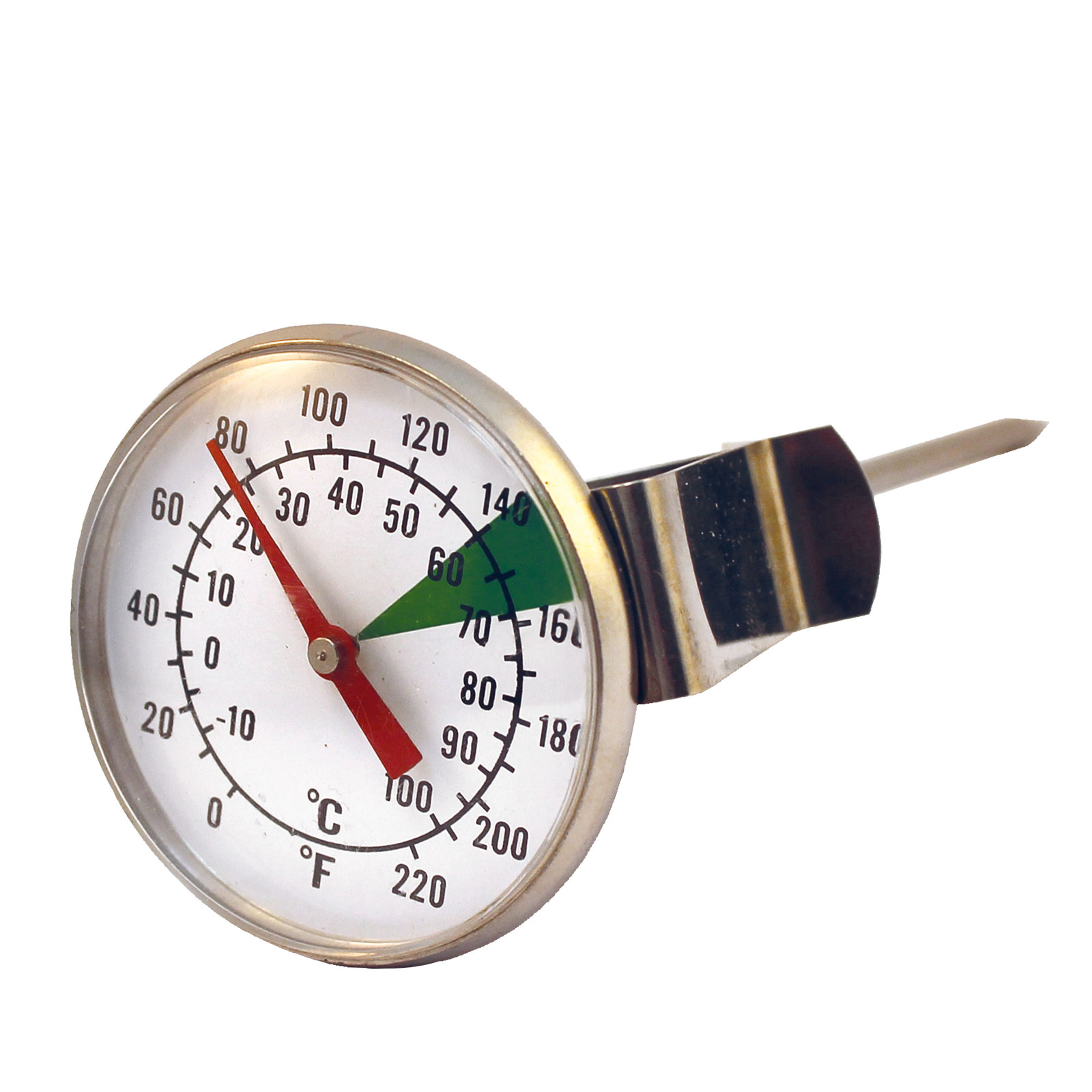 Analog Barista-Thermometer ø 45 mm, Milch-Thermometer Barista Zubehör