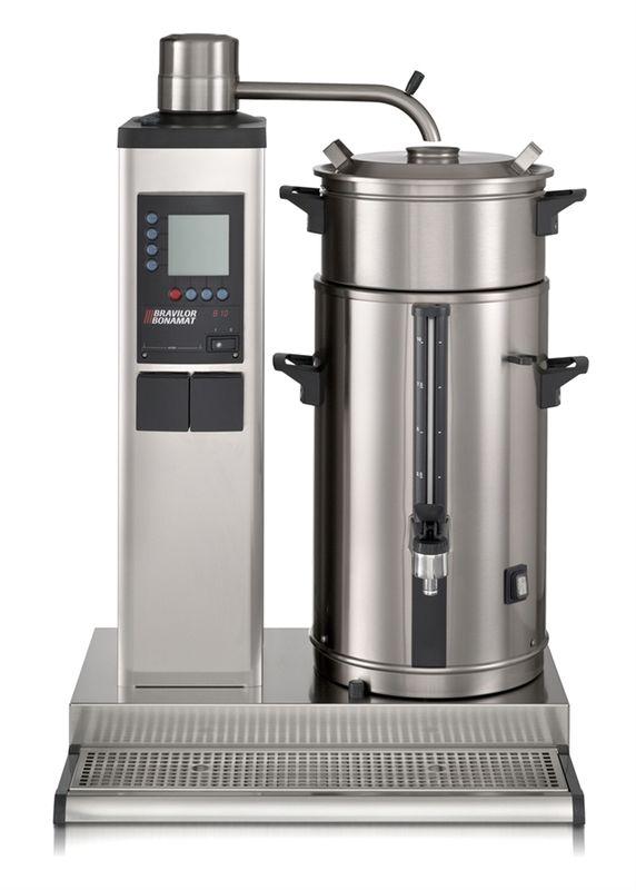 Bonamat Rundfilter Kaffeemaschine B10 L/R Links, 1 Brühsystem ,1 Behälter à 10 Liter