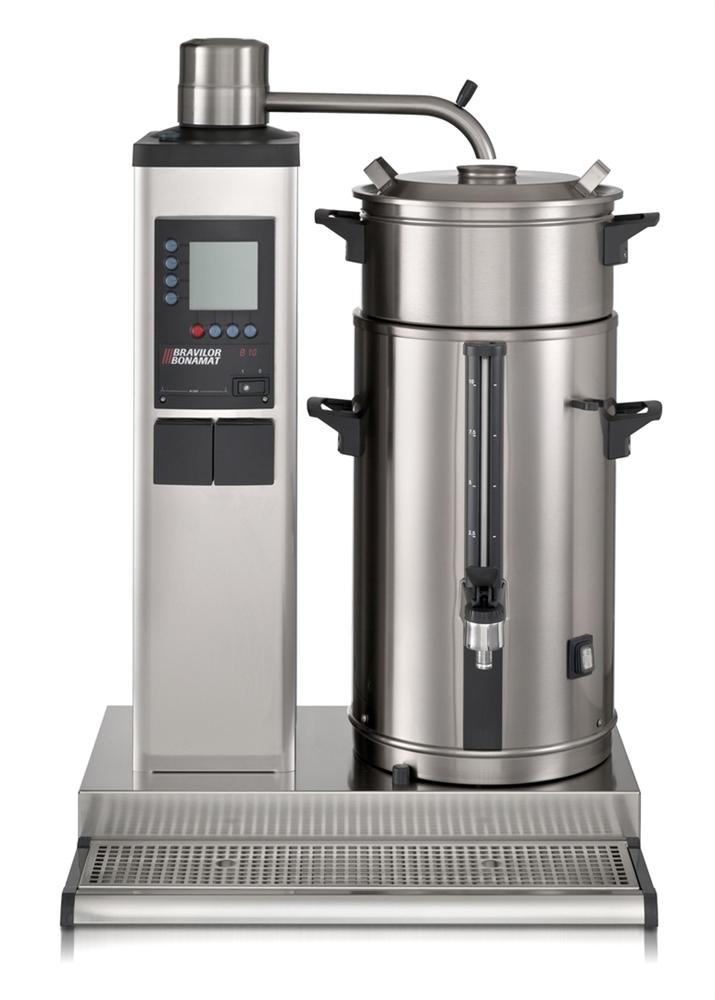 Bonamat Rundfiltergerät B40 L/R links, 1 Brühsystem, 1 Behälter à 40 Liter