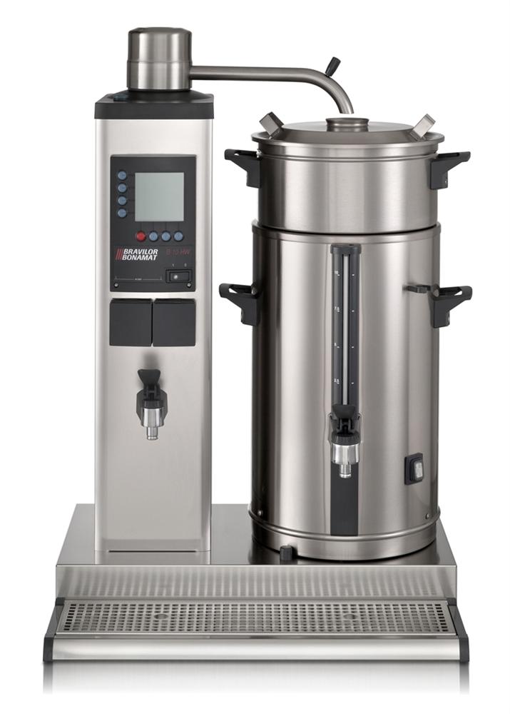 Bonamat Rundfiltergerät B10 HW L/R rechts, 1 Brühsystem, 1 Behälter à 10 Liter
