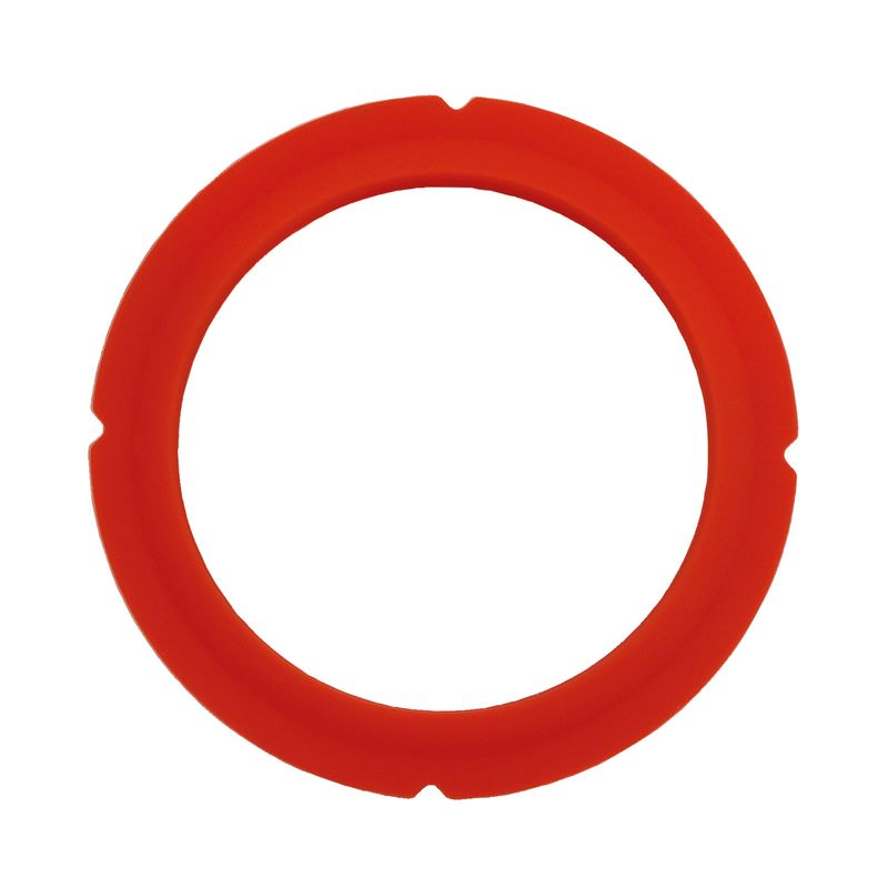 Siebträgerdichtung für Duschsieb, Silikon kegelförmig ø72 x 55 x 6,1/8mm rot