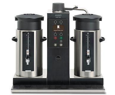 Animo Rundfilter Kaffeemaschine Combi Line CB 2x5l, Kaffeebrüher
