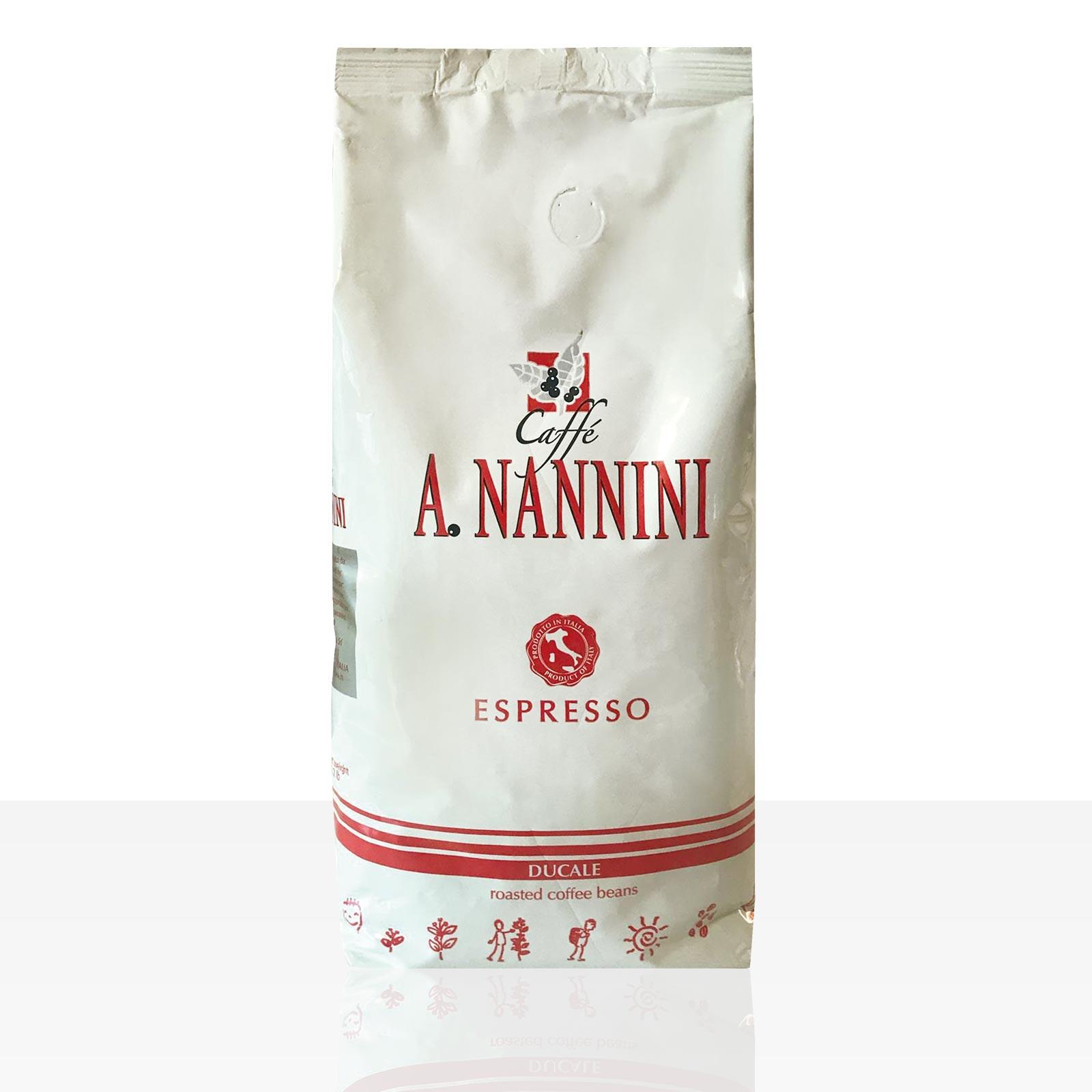 Nannini Espresso Ducale 1kg Kaffee ganze Bohne