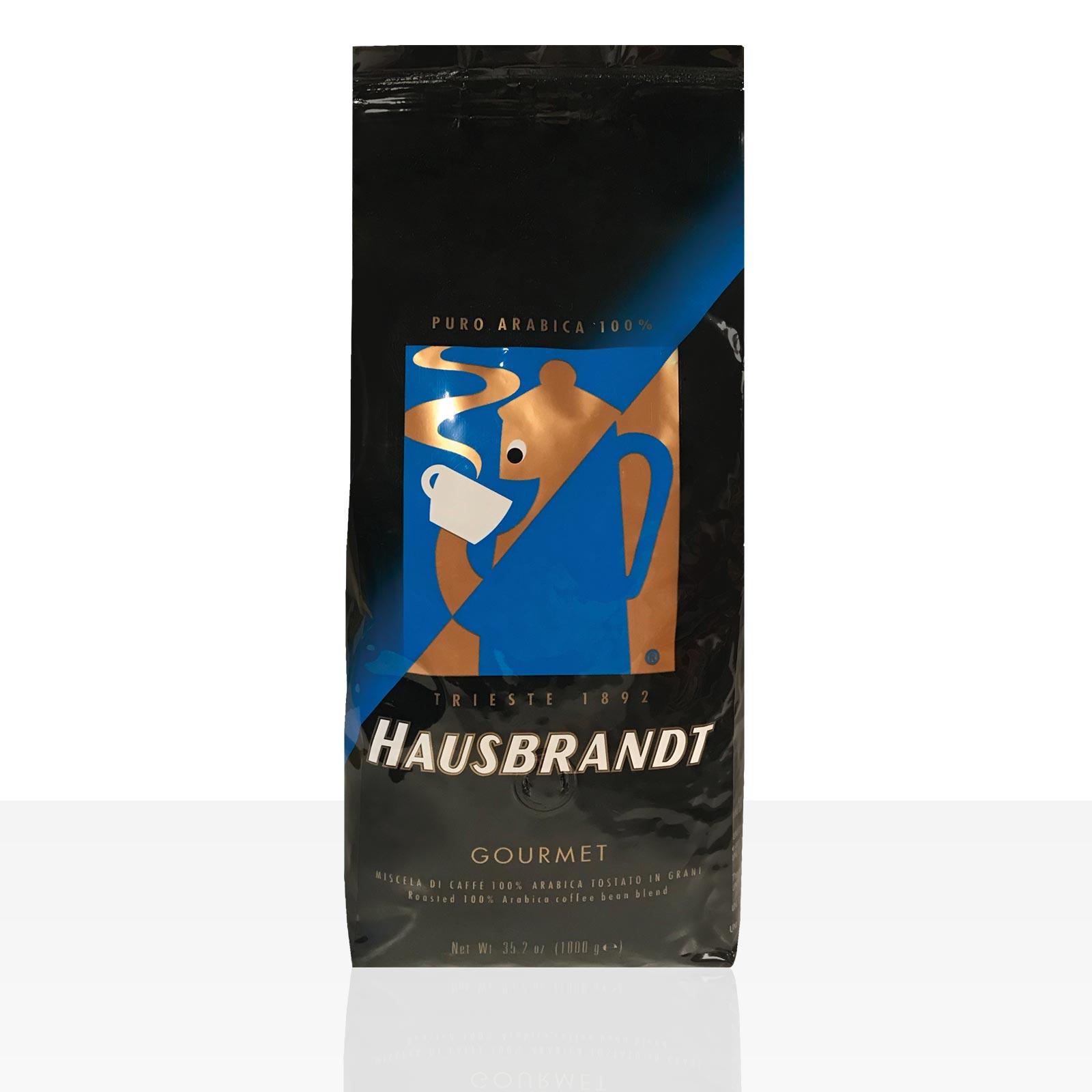 Hausbrandt Gourmet Espresso 1kg Kaffee ganze Bohne, 100% Arabica