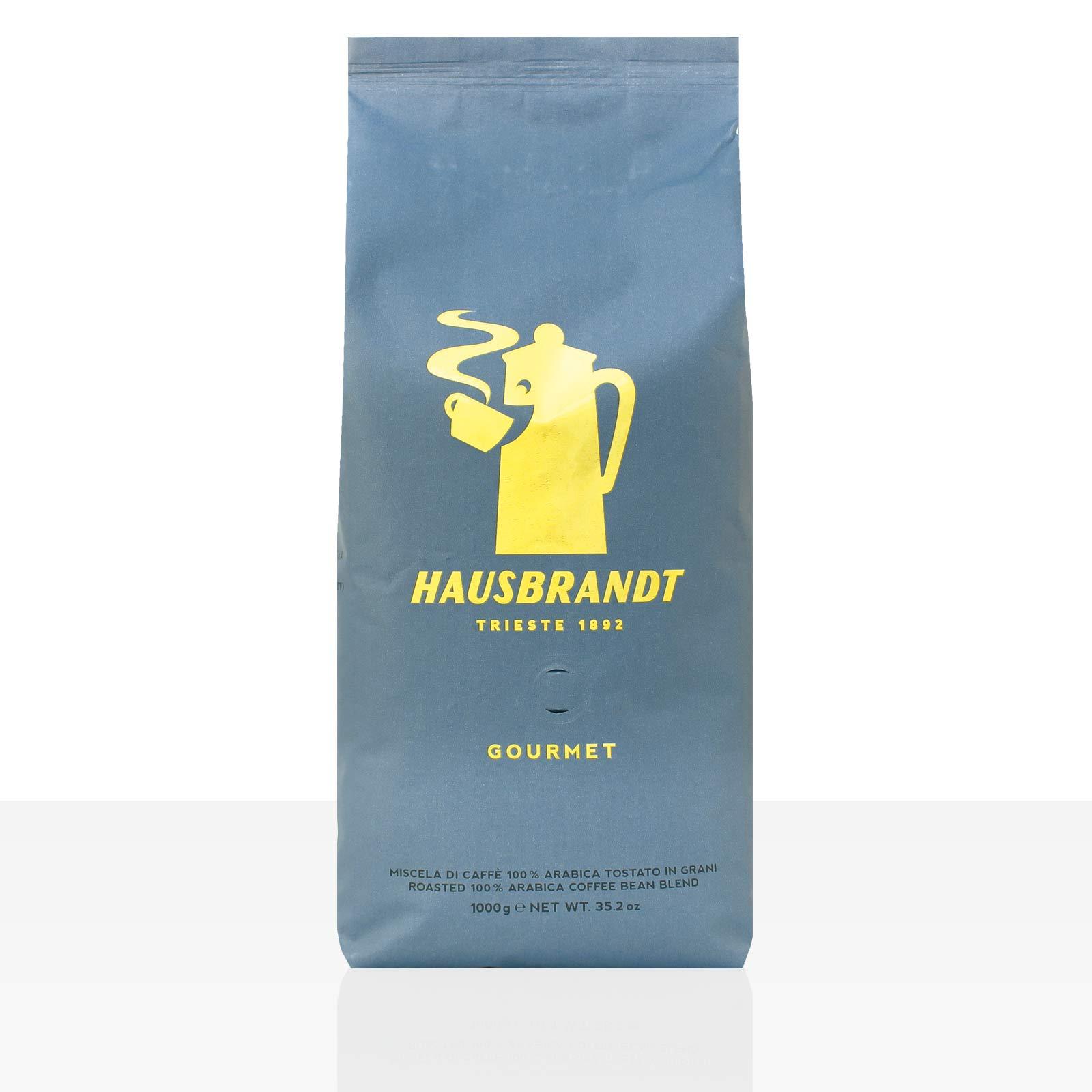 Hausbrandt Gourmet Espresso 6 x 1kg Kaffee ganze Bohne, 100% Arabica