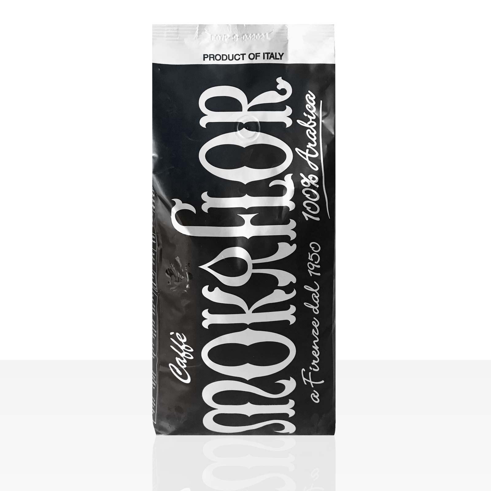 Mokaflor Miscela Espresso NERA 5 x 1kg Kaffee ganze Bohne, 100% Arabica
