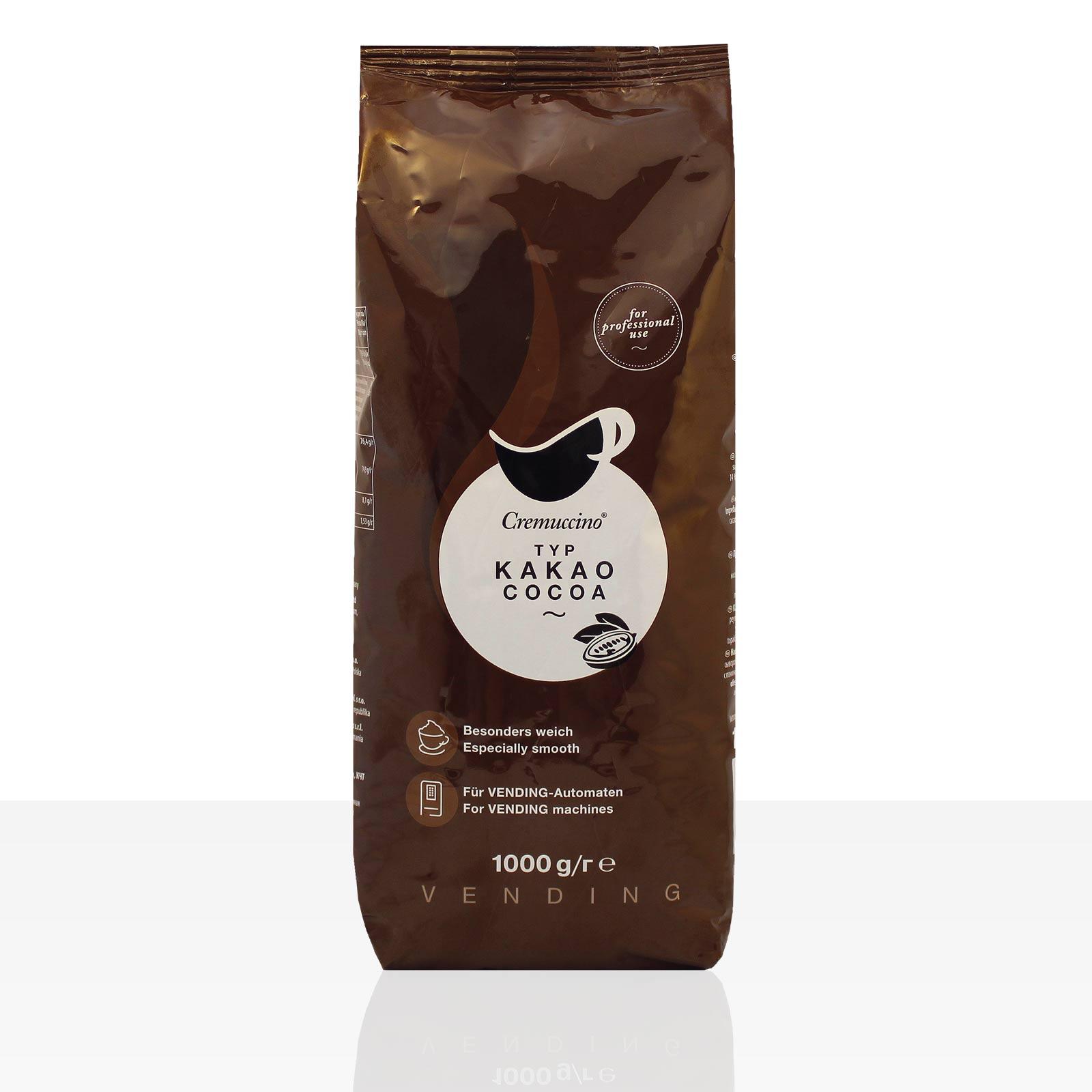 Tchibo Cremuccino Kakao Cocoa 1kg, Vending 14% Kakaopulver für Automaten