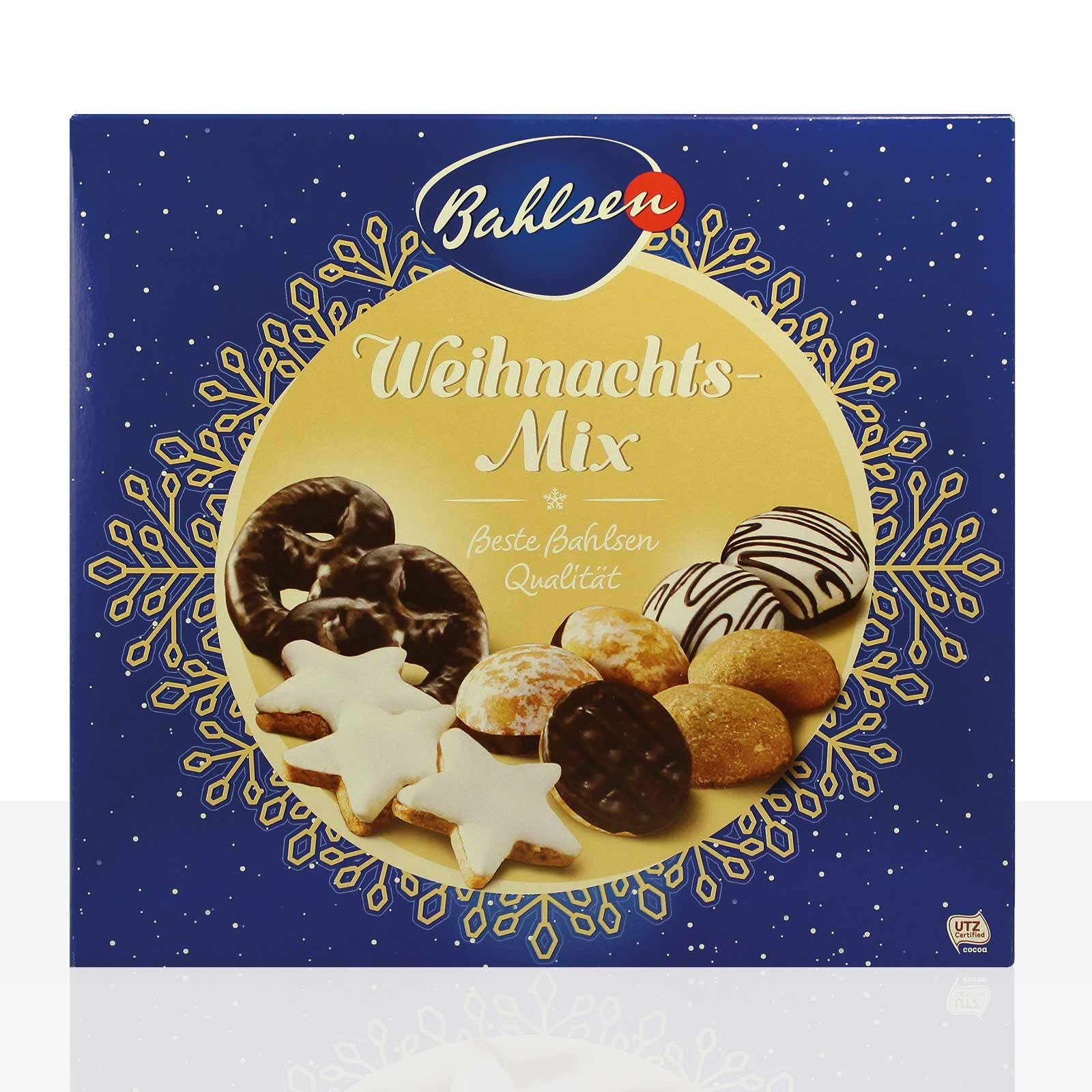 Bahlsen Weihnachts-Mix Lebkuchen 2 x 500g