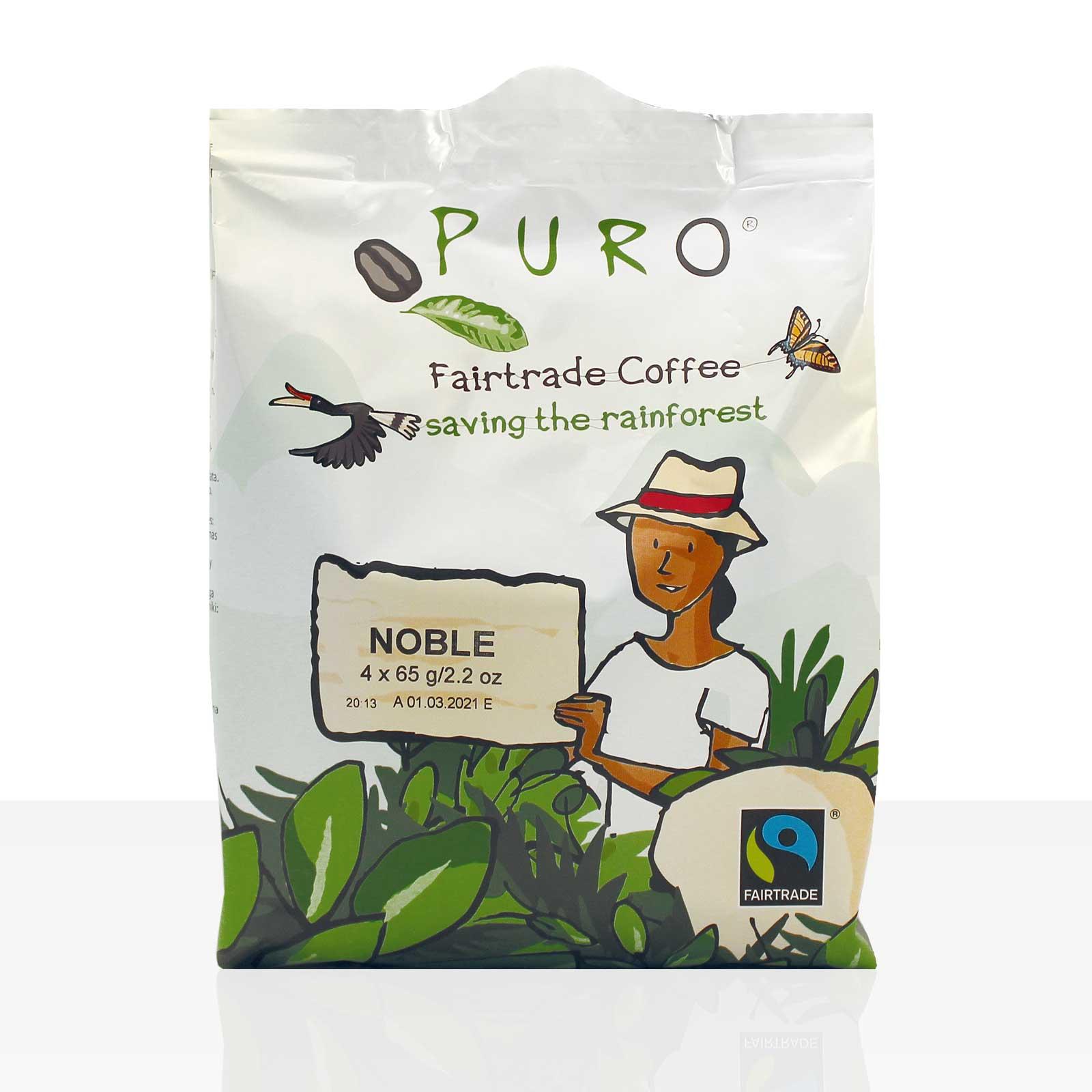 Miko Puro Fairtrade Noble Pouch-Beutel gemahlen 48 x 65g