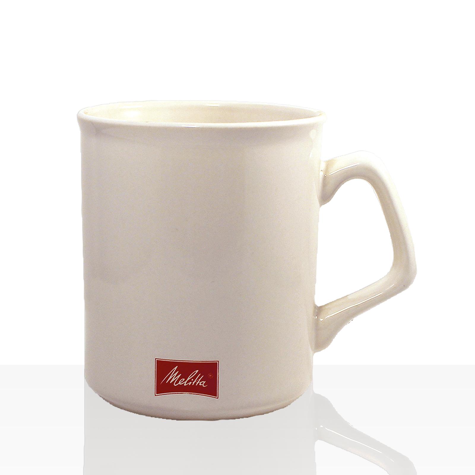 Melitta Kaffee-Becher mit Henkel 300ml, Porzellan-Tasse