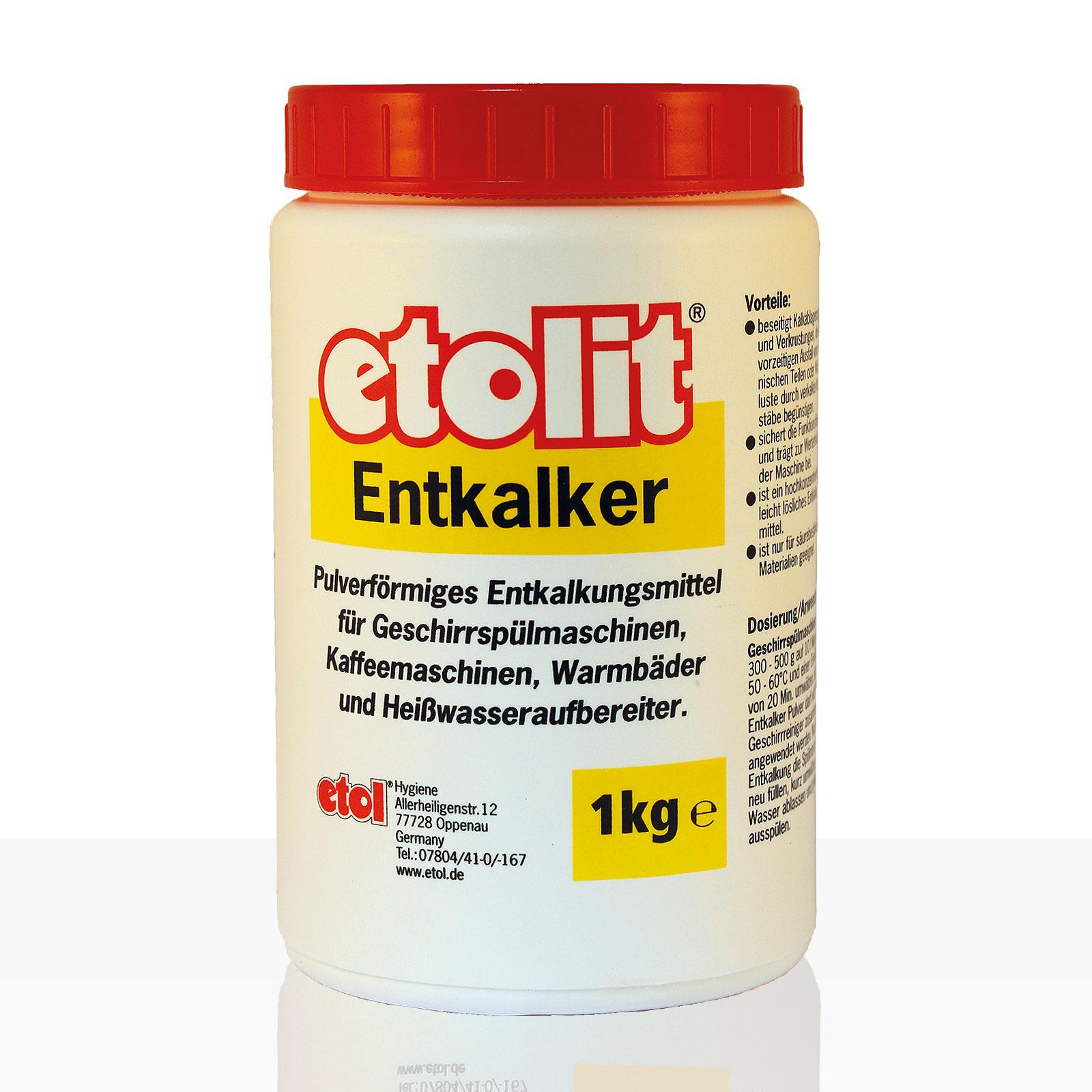 Etolit Entkalker-Pulver 1kg Entkalkungsmittel