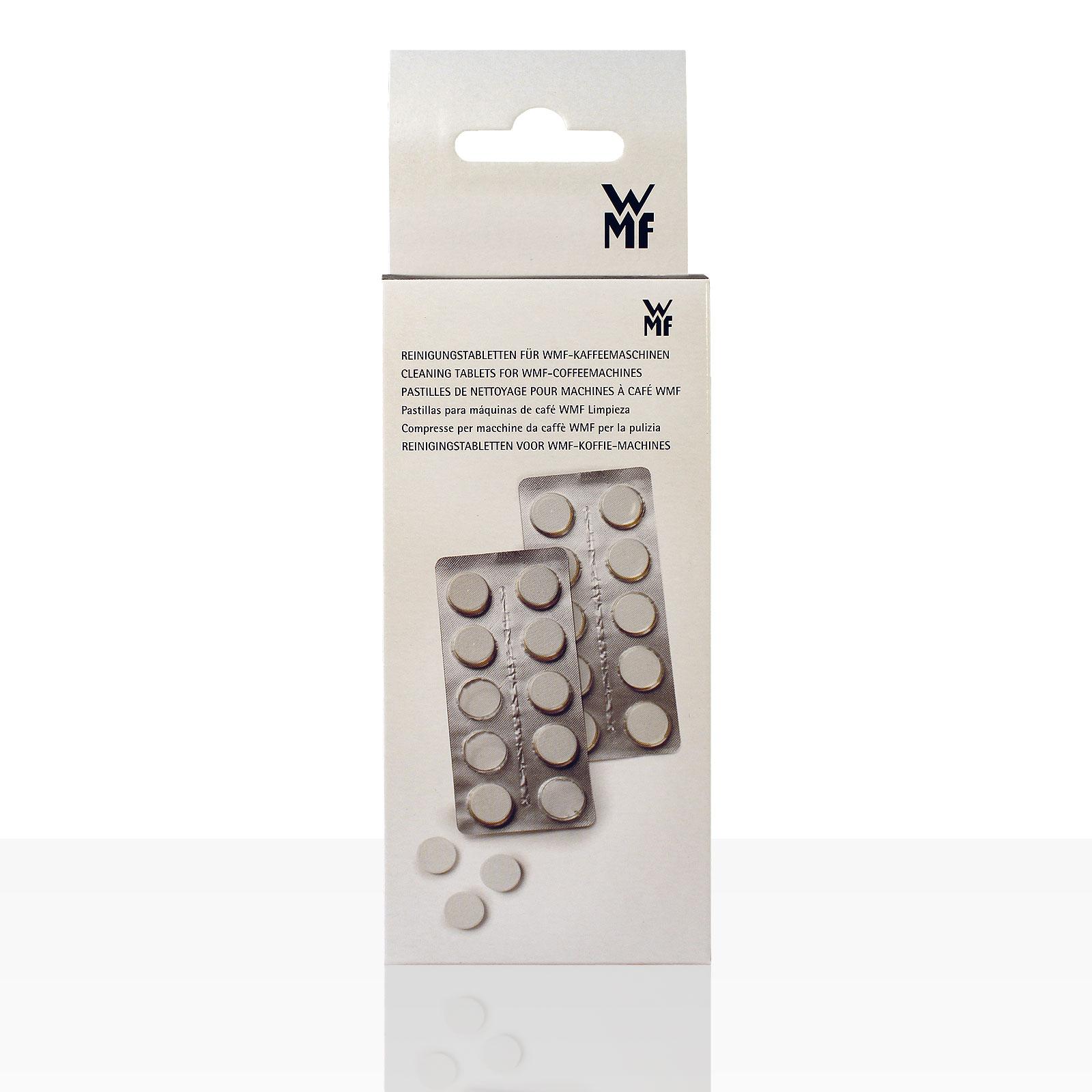 WMF Spezial Reinigungstabletten 20 x 1,3g Blister 1Stk, für Wmf 800, 1000 u.a.