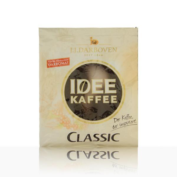 Darboven Idee Pouch entkoffeiniert ganze Kanne - 50 x 60g Kaffee im Filterbeutel