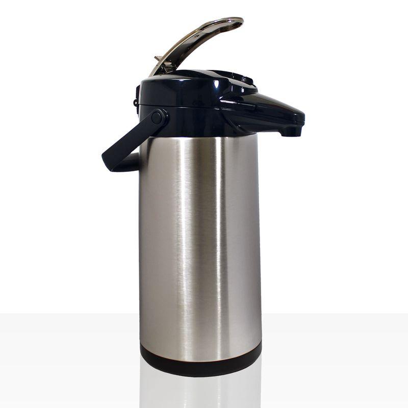 Bonamat Airpotkanne Pumpkanne Furento 2,2l Edelstahlzylinder