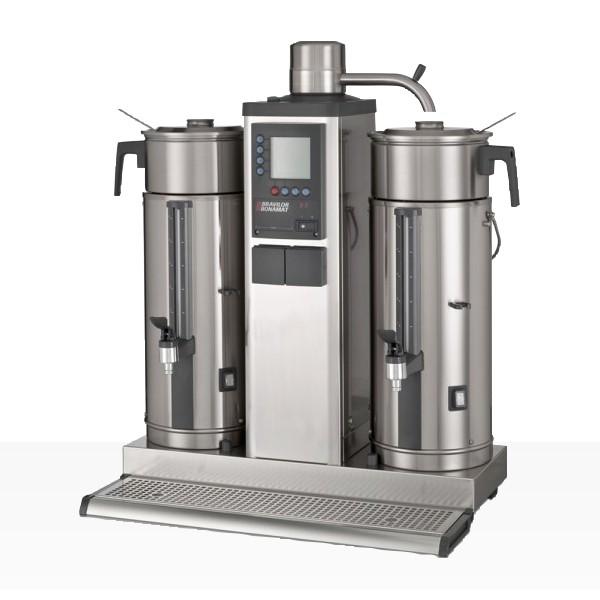 Bonamat B5 HW Kaffeemaschine, Rundfiltergerät 2 x 5 Liter mit Heißwasser, 230 V
