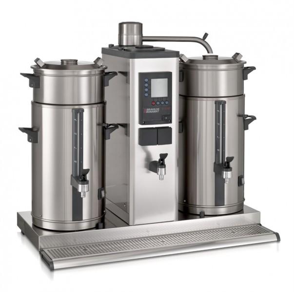 Bonamat B10 HW Kaffeemaschine, Rundfiltergerät 2 x 10 Liter mit Heißwasser
