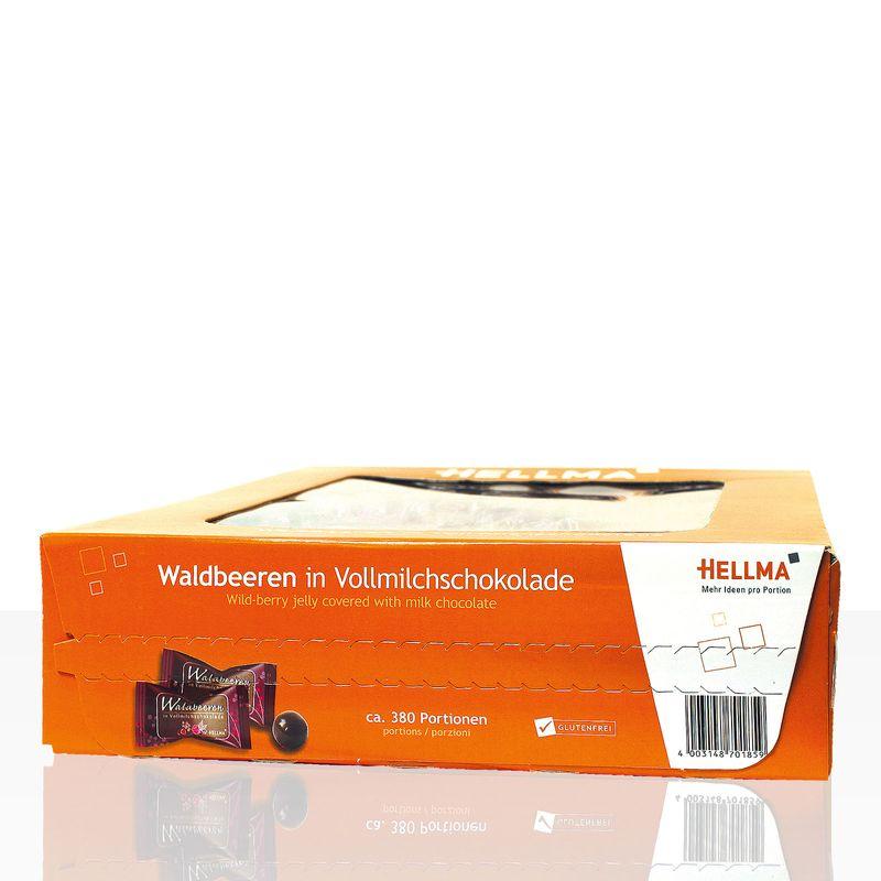 Hellma Waldbeeren in Vollmilchschokolade 380 Stk