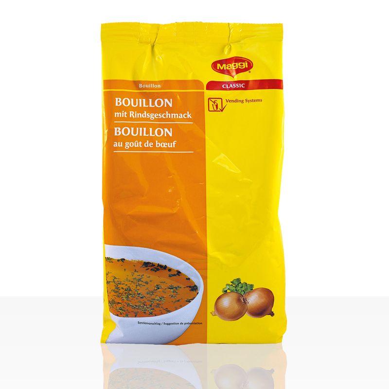 (ab 11,29 EUR/kg) Maggi Bouillon mit Rindsgeschmack Automatensuppe 1kg Instantsuppe