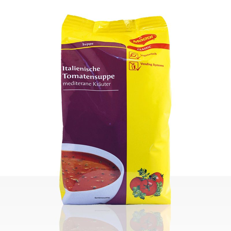 (ab 9,79 EUR/kg) Maggi Italienische Tomatensuppe Automatensuppe 1kg Instantsuppe