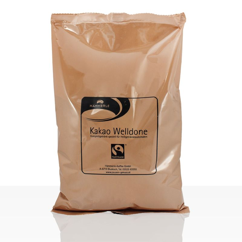 (ab 5,43 EUR/kg) Hämmerle Kakao Welldone Fairtrade 1kg