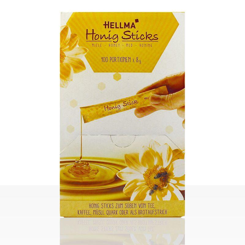Hellma Honig Sticks 100 x 8g
