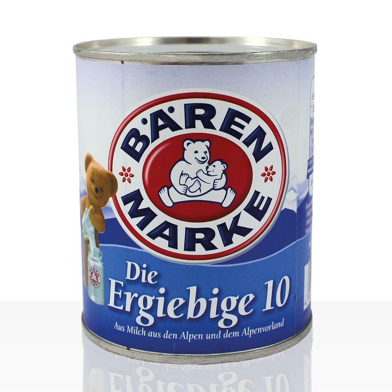 Bärenmarke Die Ergiebige 10%, 340g Dose, Kondensmilch