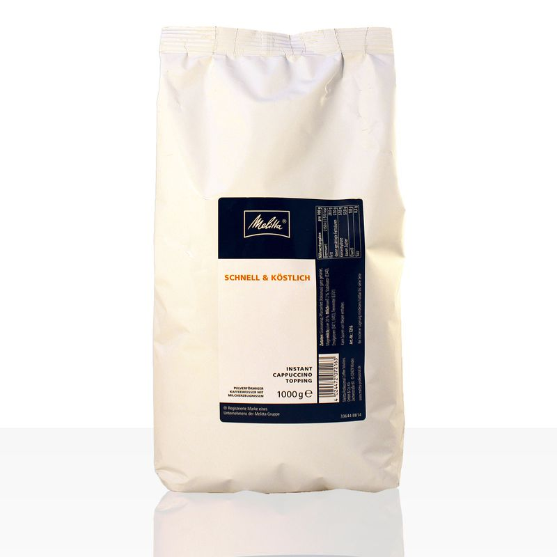 Melitta Cappuccino Topping Milchpulver 1kg