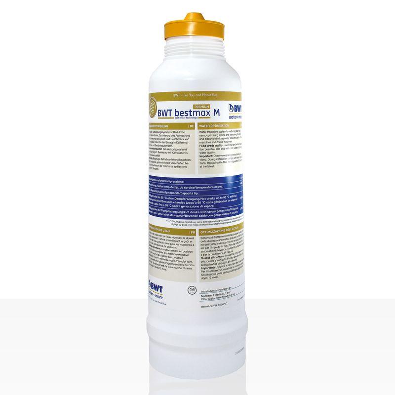 Bestmax M Premium Filterkerze, BWT water + more Wasserfilter, ca. 2700 L