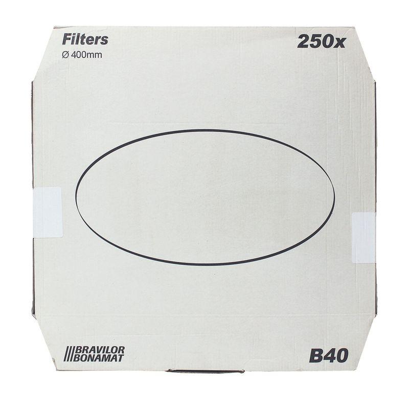 Bonamat Bravilor B40 Flachfilter 250Stk 400mm