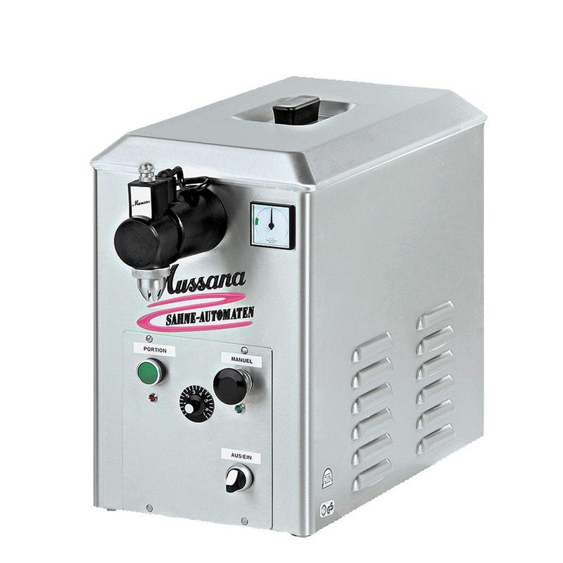 Mussana Mobil 12 Volt 3 Liter Sahnemaschine, inkl 8l Reiniger