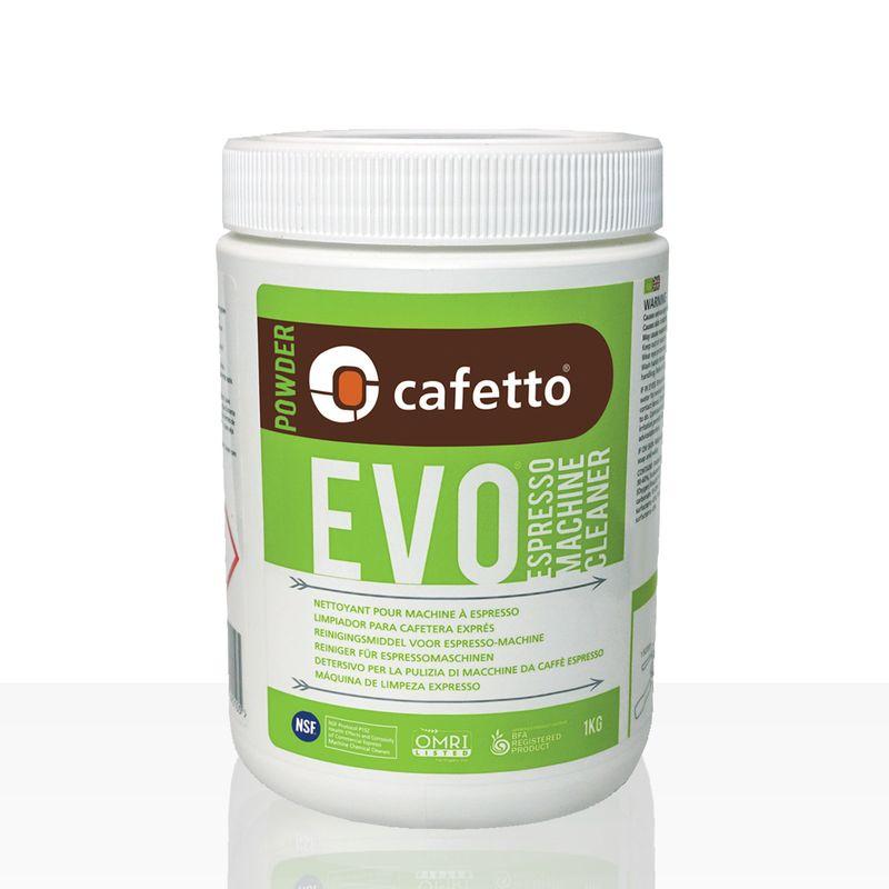 Cafetto EVO Reiniger für Espressomaschinen 1kg Pulver, rein organisch