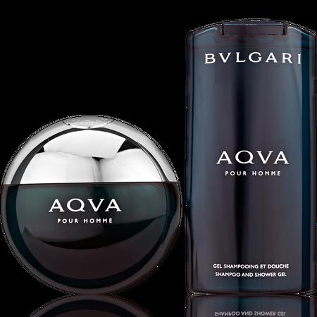 Bvlgari Aqva EdT 100ml + Shower Gel 200ml