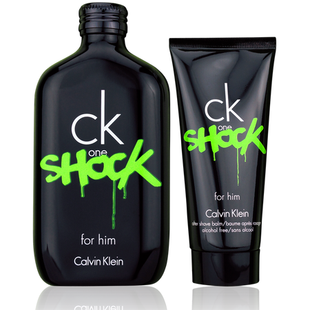 Calvin Klein One Shock Him EdT 200ml + 100ml After Shave Balm