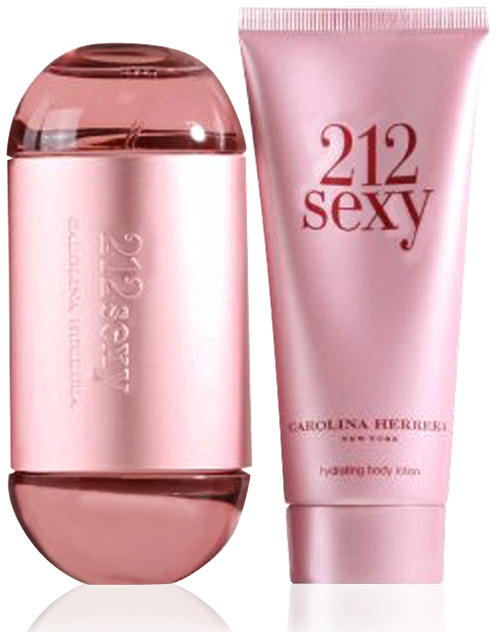 Carolina Herrera 212 Sexy EdP 60ml + Body Lotion 100ml