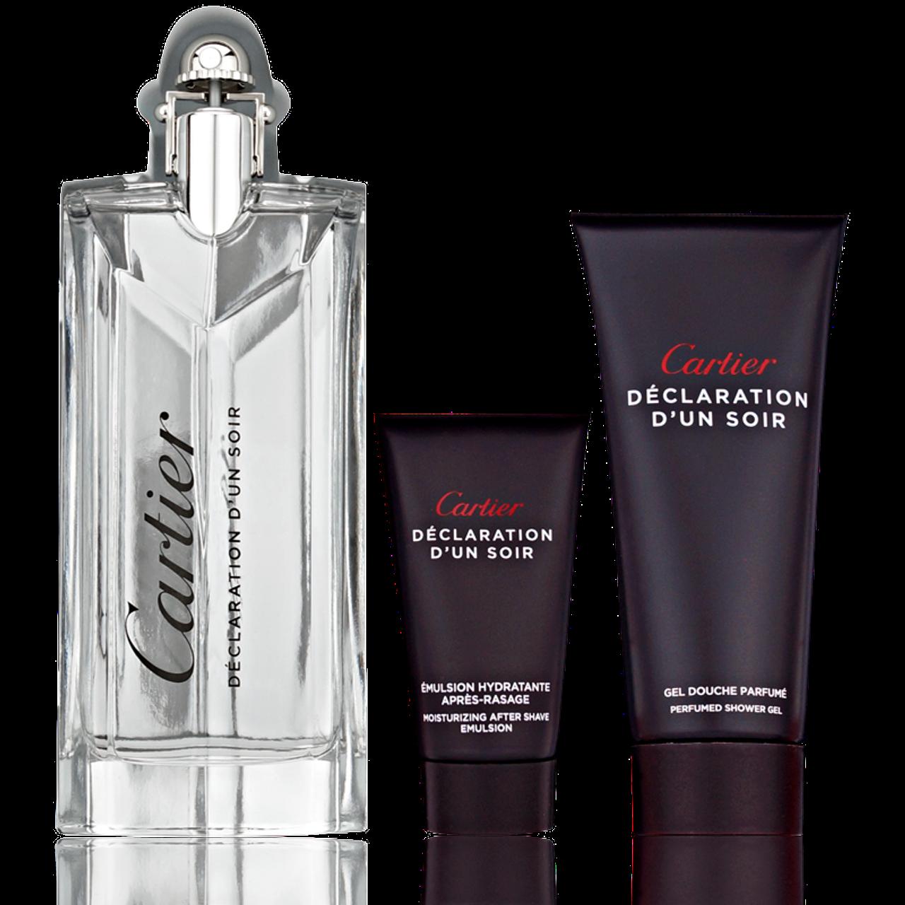 Cartier Declaration d'Un Soir EdT 100ml + Shower Gel 100ml + AS Emulsion 30ml