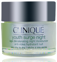 Clinique Youth Surge Night Age Decelerating Moisturizer very dry to dry 50ml