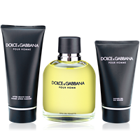 Dolce & Gabbana Pour Homme 125ml EdT + 100ml After Shave Balm + 50ml SG
