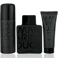 Mandarina Duck Man Pure Black EdT 100ml + Shower Gel 75ml + Deo Spray 150ml