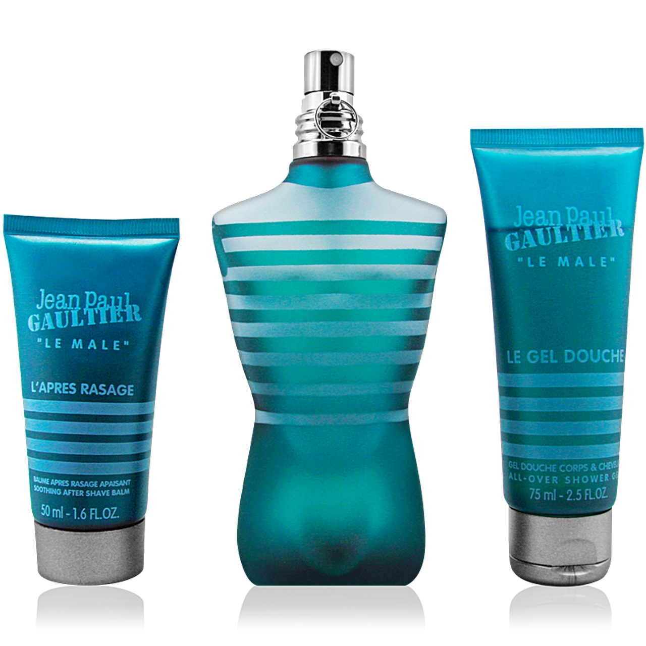 Jean Paul Gaultier Le Male EdT 125ml + Shower Gel 75ml + After Shave Balm 50ml