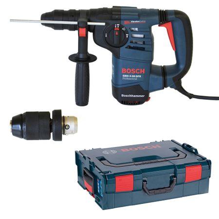 Bosch SDS-Plus Bohr- und Meißelhammer GBH 3-28 DFR inkl. extra SS - Wechselbohrfutter 1,5-13mm in L-Boxx Gr. 2 / 136