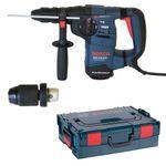 Bosch SDS-Plus Bohr- und Meißelhammer GBH 3-28 DFR inkl. extra SS - Wechselbohrfutter 1,5-13mm in L-Boxx Gr. 2 / 136 001