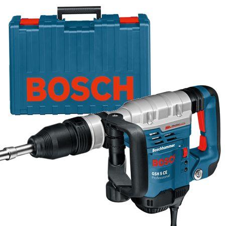 Bosch Schlaghammer SDS-MAX GSH 5 CE im Handwerkerkoffer 0611321000 - 230VOLT