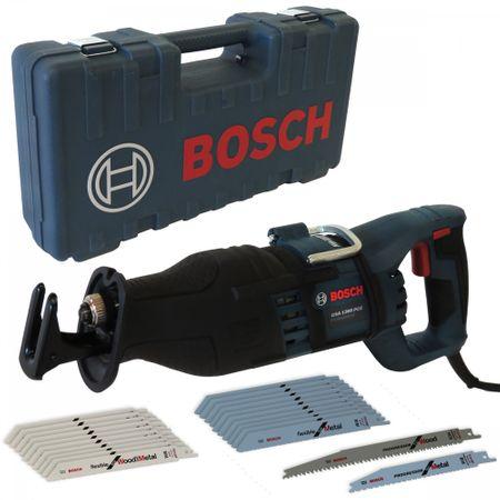 Bosch Säbelsäge GSA 1300 PCE im Koffer + EXTRA SÄGEBLÄTTER 20 STÜCK