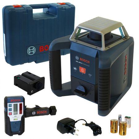 Bosch Rotationslaser GRL 400 H, Empfänger LR1, Akku-Pack NiMh, Ladegerät, Koffer