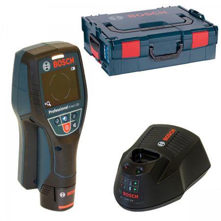 Bosch Wallscanner D-tect 120 incl. Akku 1,5Ah+ Ladegerät AL1130CV in der L-Boxx Gr. 2 / 136