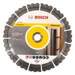Bosch Diamanttrennscheibe 230x22,23x15mm Best for Universal NEU Speedtec 15mm Segment 001